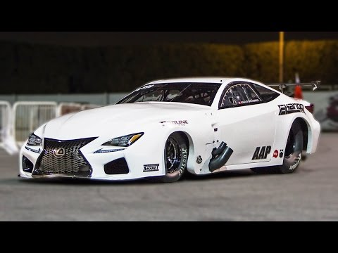 4,000 Horsepower ROCKET - Ekanoo Racing LEXUS!