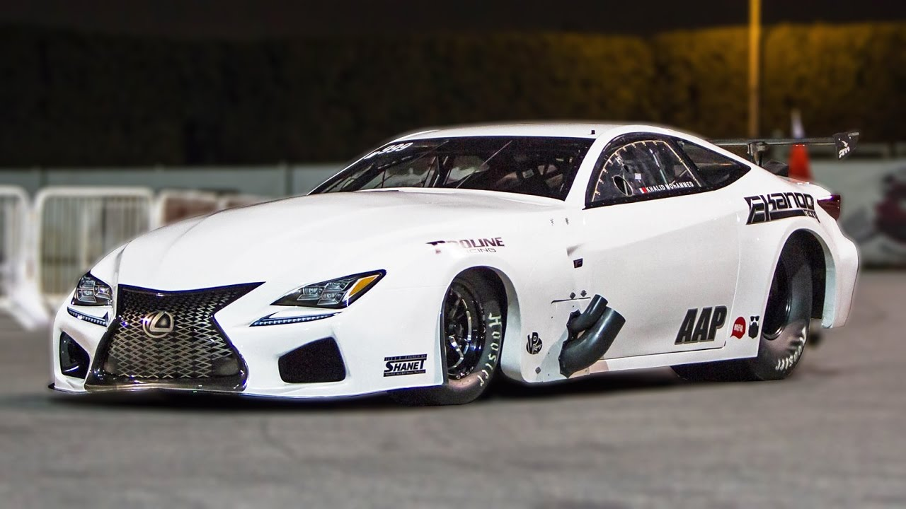 4 000 Horsepower Rocket Ekanoo Racing Lexus Youtube