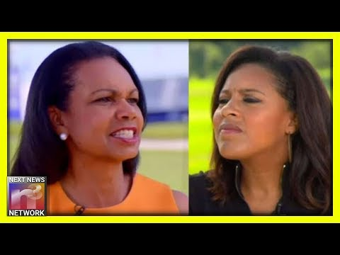 NICE! Condi Rice Shuts Down Reporter To Her FACE For Implying Race Relations Worse Under Trump