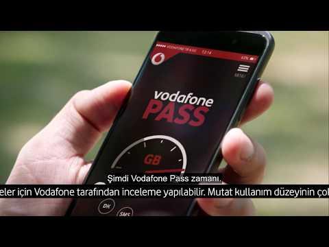 #SınırsızYaşarım diyenlere Vodafone Pass
