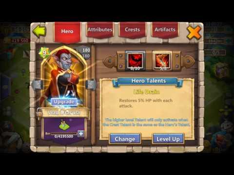 Castle Clash Let's Open Level 5 Talent Chest