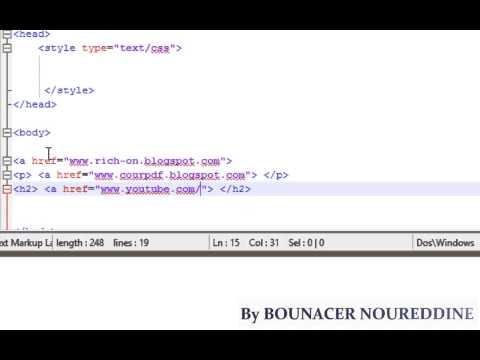 HTML-CSS TUTORIAL -27- Child Selectors