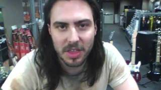 Andrew W.K. in Best Buy