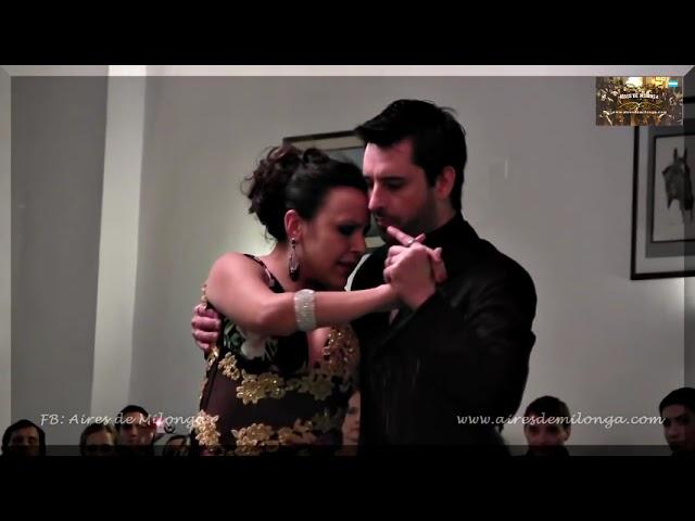 LINDO, Javier Rodriguez y Virginia Pandolfi en milonga La Baldosa milonga tango en Buenos Aires 2013