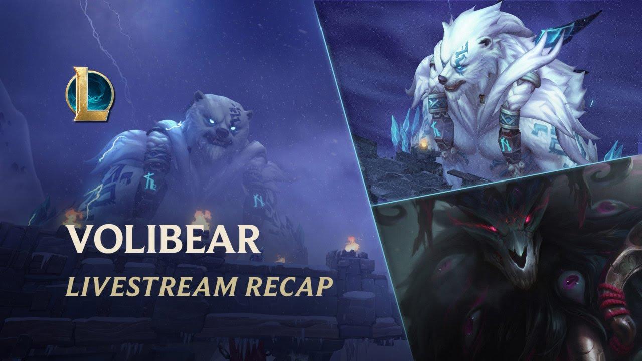 Fırtına: Volibear Tanıtımı Özeti | Şampiyon Güncellemesi - League of Legends