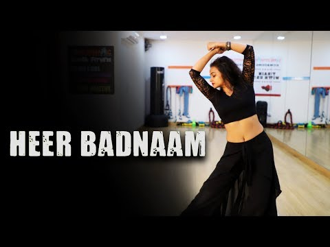 Heer Badnaam ZERO | Dance Cover | Aditi | Dancercise | Shah Rukh Khan Katrina Kaif | Tanishk Bagchi
