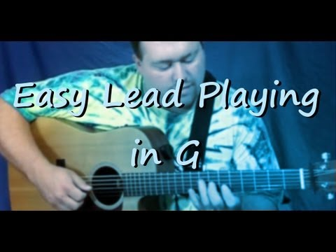 Easy Lead Playing in G
