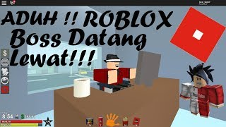 Boss comes Office PON!!! | URBIS | Roblox Malaysia