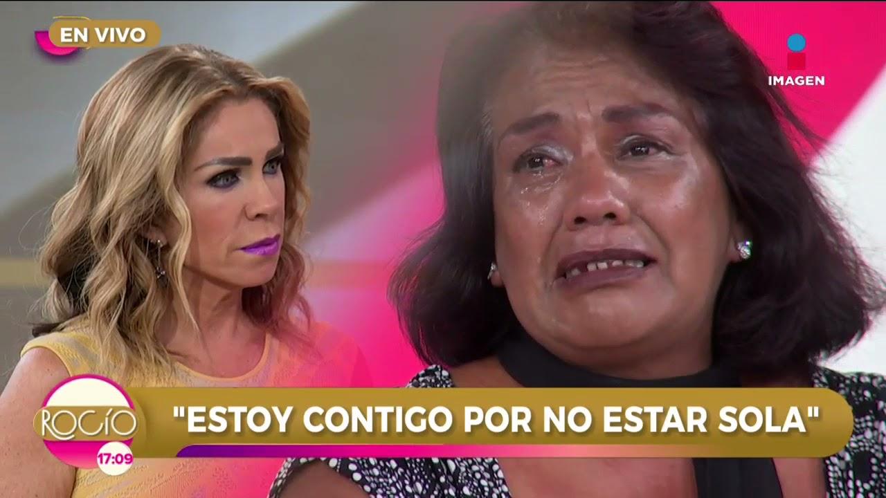 'Estoy contigo por no estar sola' programa completo   Rocío a tu lado