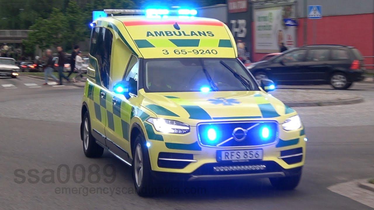 Volvo xc90 ambulanse