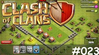 Let's Play Clash of Clans #023 [Deutsch] [HD] [PC] - Ab durch die Mauer