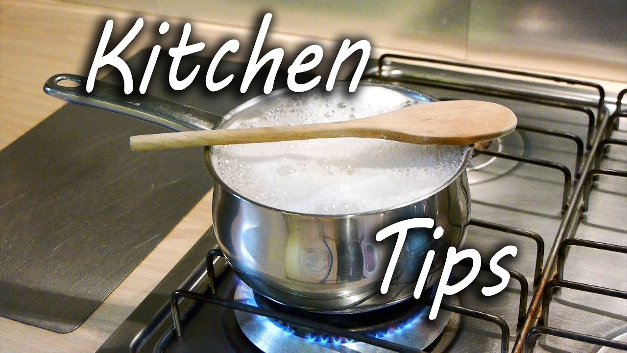 5 Top Kitchen Tips  Youtube