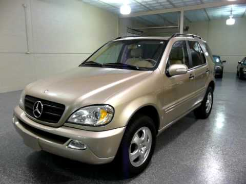 2002 mercedes ml320 1864 sold youtube for Mercedes benz ml 320 2002