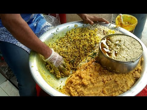 King Of Jhal Muri Maker | Masala Jhal Muri | Popular Bangladeshi Street Food