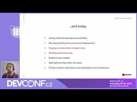 Packit: 2 years of upstream ⟷ downstream - DevConf.CZ 2021