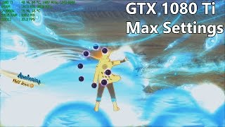 Naruto Ninja Storm 4 Road to Boruto PC MOD 60 FPS - Gigabyte GTX 1080 Ti Max Settings Gameplay