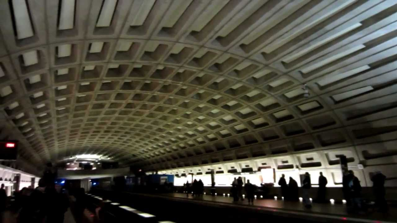 Washington DC Subway Interior Design