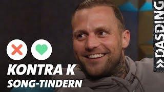 Song-Tindern: Kontra K – Was trifft härter? Ein K.O. im Boxring oder im Leben? | DASDING Interview