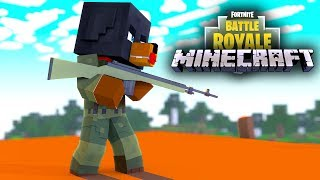FORTNITE IN MINECRAFT - THE LITTLE CLUB BATTLE ROYALE