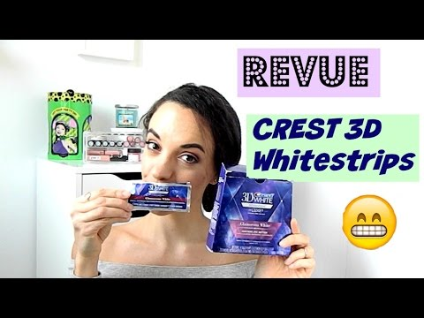 comment avoir les dents blanches crest 3d whitestrips avant apr s youtube. Black Bedroom Furniture Sets. Home Design Ideas