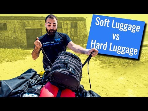 Hard VS soft motorcycle luggage. HOW TO choose your panniers!