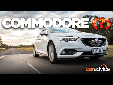 2018 Holden ZB Commodore REVIEW: Pre-production drive!