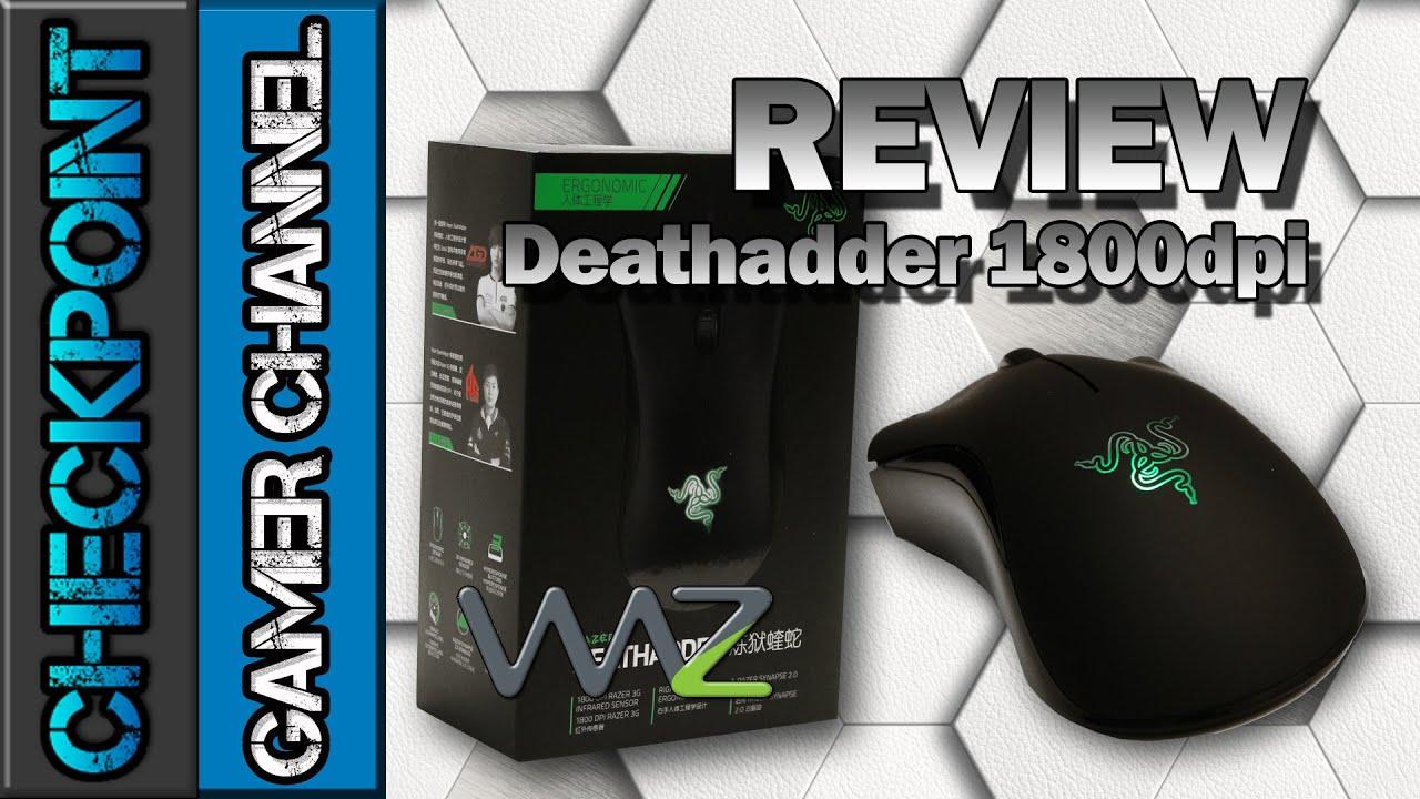 DEATHADDER 1800 DPI WINDOWS XP DRIVER DOWNLOAD