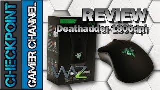Razer Deathadder 1800dpi - Review & Unboxing (PT-BR)