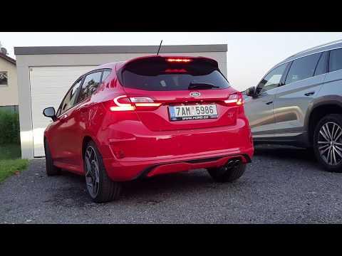 2019 Ford Fiesta ST 1.5 EcoBoost: engine & exhaust sound