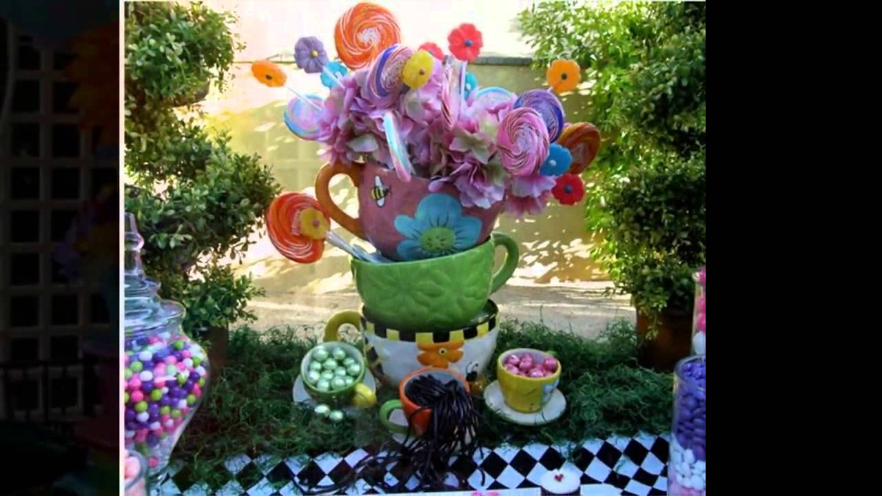 Stunning Alice In Wonderland Party Decorating Ideas Youtube