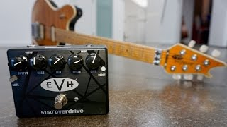EVH 5150 OVERDRIVE demo #2 by Pete Thorn