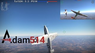 War Thunder Ta152H vs P51H Ft.  DEFYN | What Can The P51H Do?