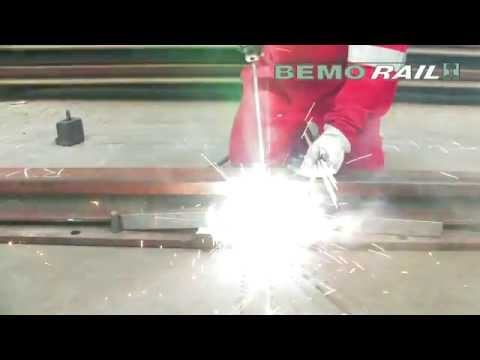 Bemo Rail Puddle Arc Welding Bekistlassen Youtube