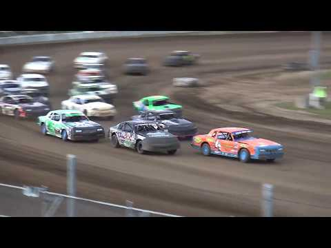 IMCA Stock Car Iowa Donor Night feature Independence Motor Speedway 8/10/19