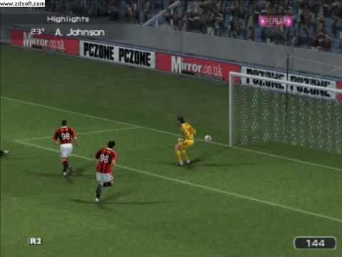 first goal ibra and goal draw