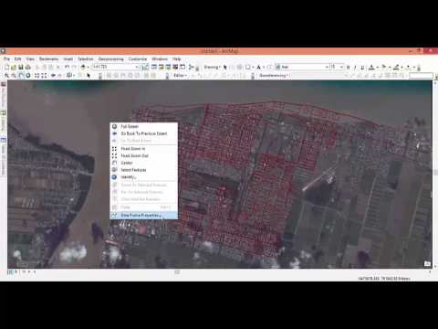 Transformation of coordinate system of the online basemap in ArcGIS