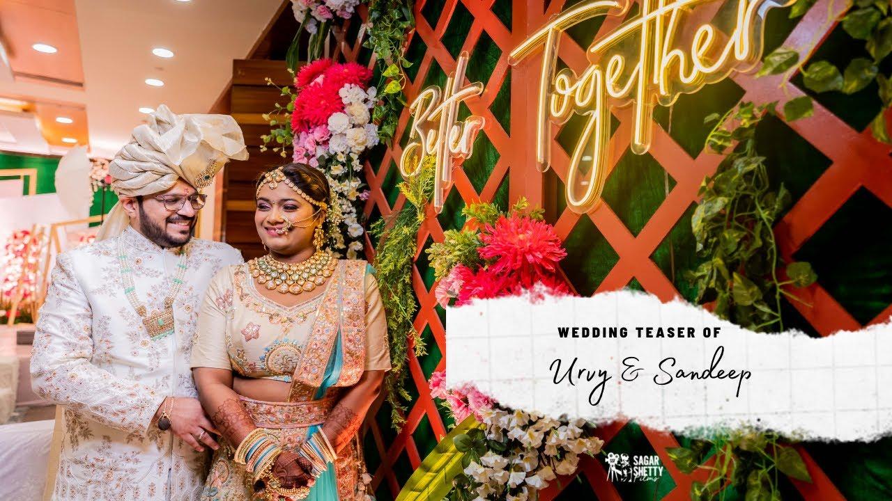 Urvy & Sandeep | Gujrati Wedding Teaser | Saibo | Sagar Shetty Films