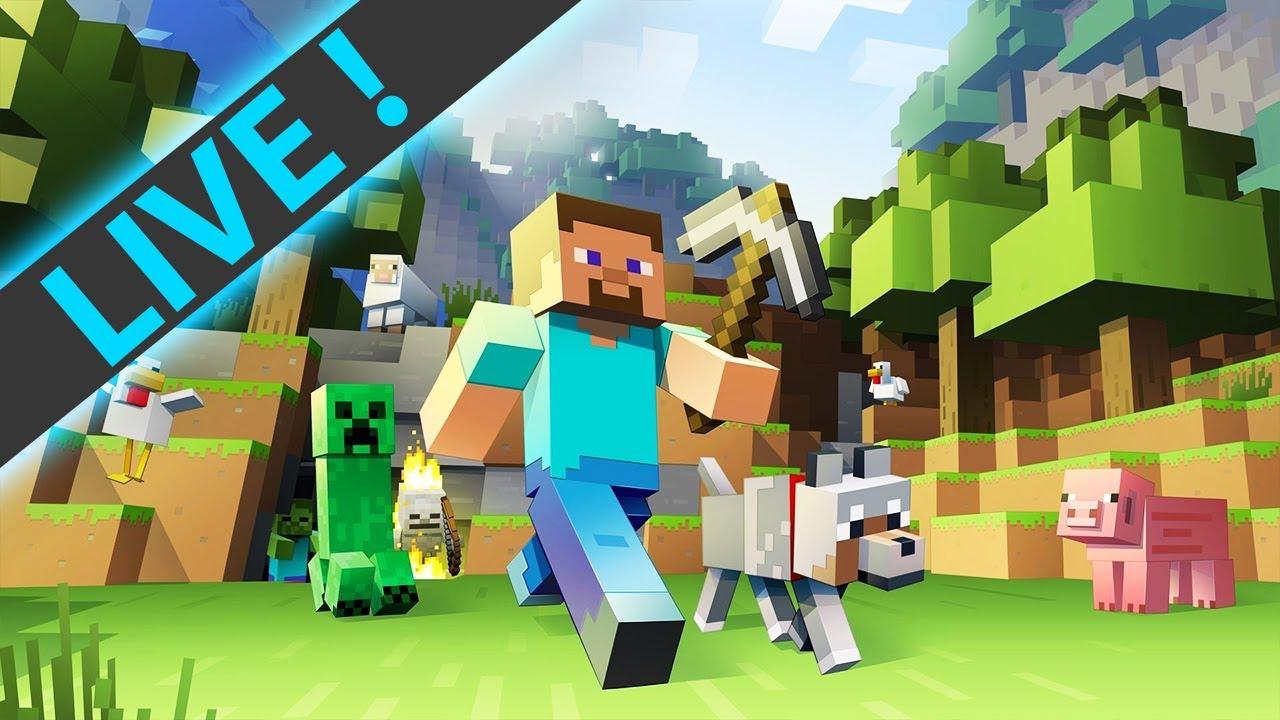 Minecraft-   بێد وارس لەگەڵ شوکی بەزم بنێینەوە  -  (LIVE)