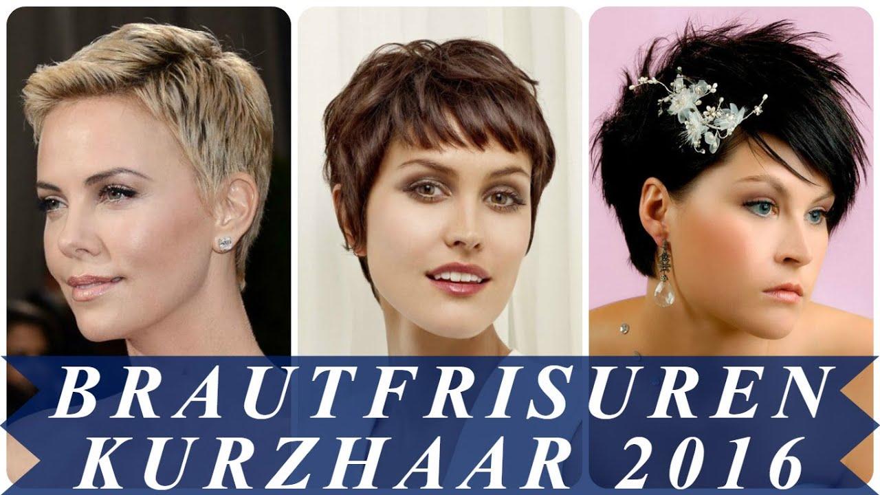 Brautfrisuren Kurzhaar 2016
