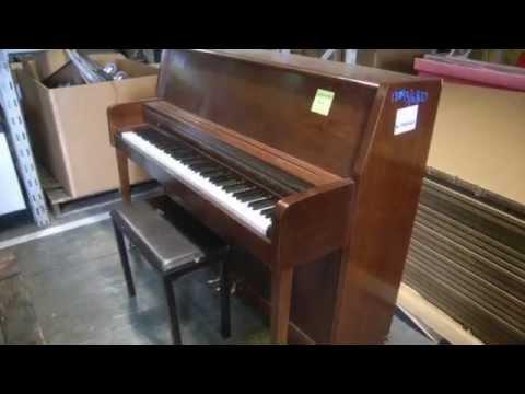 The Wurlitzer Co. 48 Key Upright Piano on GovLiquidation