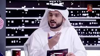 الكاتب اﻹماراتي أحمد إبراهيم على الهواء مباشرة بقناة(الظفرة) في حوارتلفزيوني عن الإمارات بعد 100عام