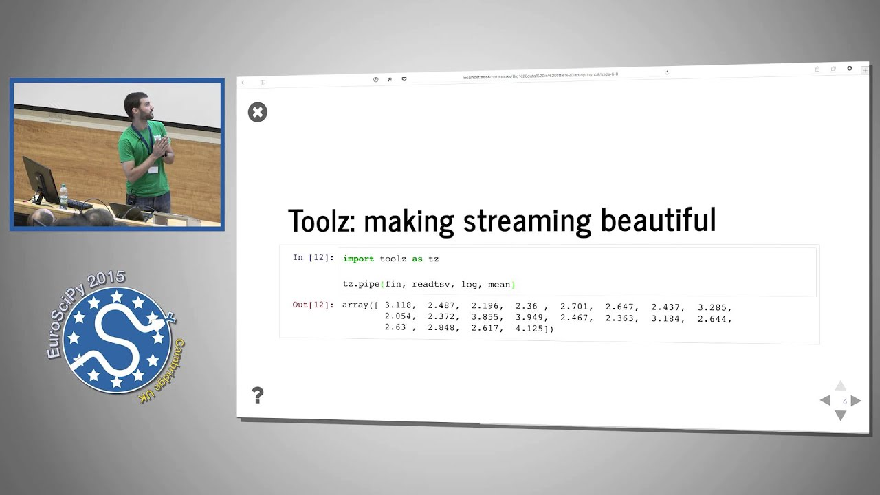 Image from Big Data in Little Laptop: A Streaming Story in Python