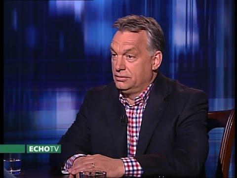 Orbán Viktor az Echo Tv Mélymagyar című műsorában