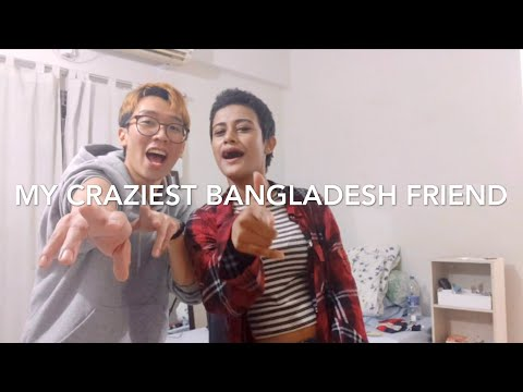 My Bangladeshi Female Friend Came To My House... | Foreigner Vlog In Bangladesh