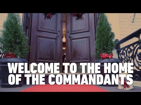 Tour of Home of the Commandants