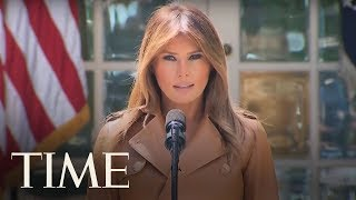 Melania Trump Launches 'BE BEST' Awareness Campaign For Kids | TIME