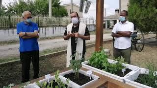 Benedizione dell'orto botanico presso il Recinto di Michea a Vasto