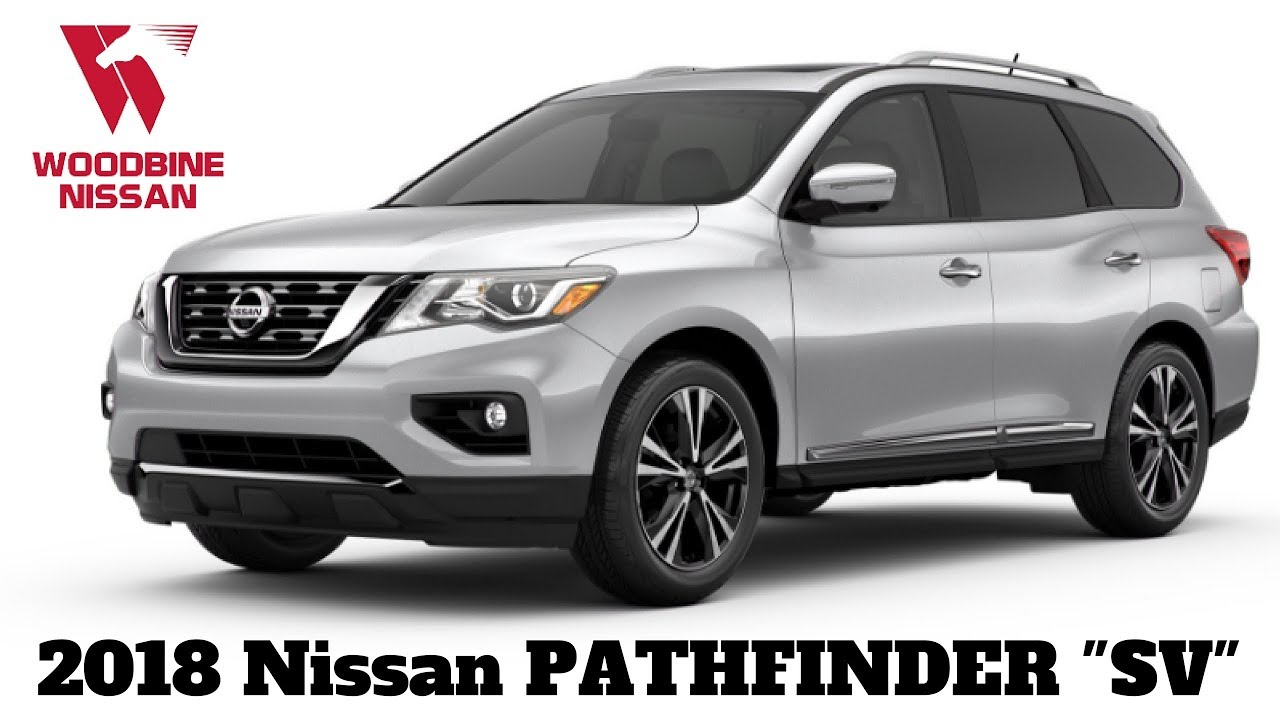 2018 Nissan Pathfinder Sv Tech Walkaround Review
