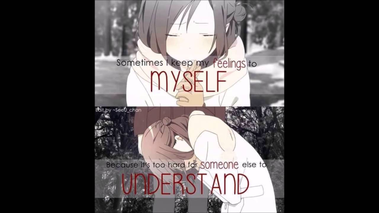 Anime Quotes: Depressing Anime Quotes