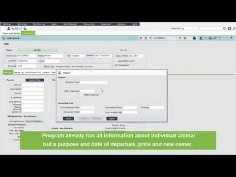 PANTHEON Farming - Farming Software - Animal Invoicing Video